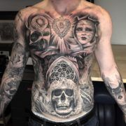 Особенности татуировки в стиле Чикаго