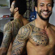 Татуировки в стиле премени Маори