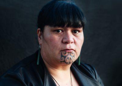 татуировки на лице народа маори