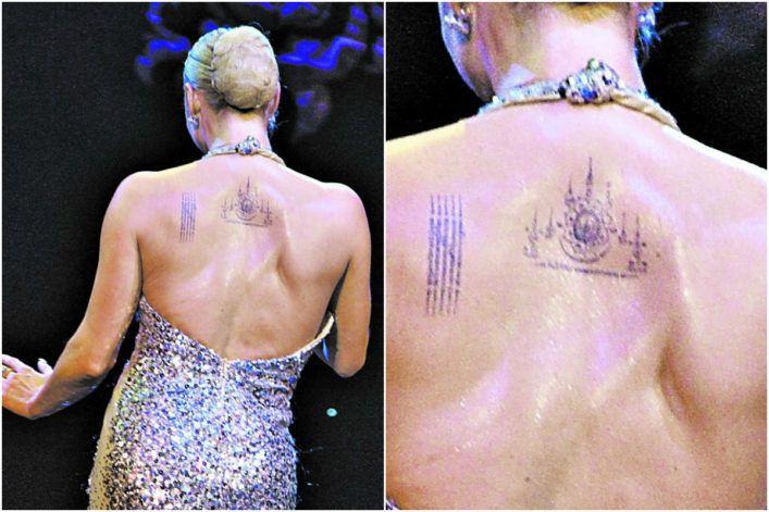 сделала защитную татуировку