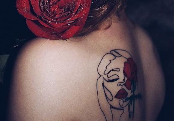 честь Тины Кароль сделали татуировку