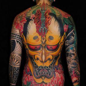 Особенности татуировки в японском стиле