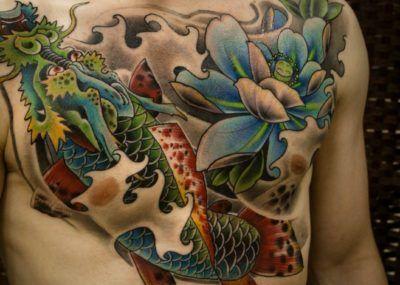 татуировки в японском стиле