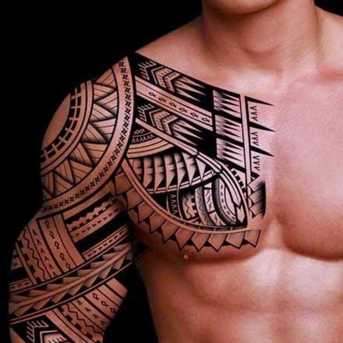в полинезийском стиле