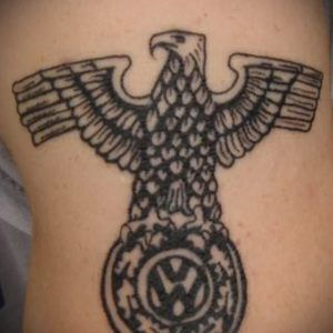 Что значит орёл в тату
