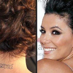 Звёзды массового выводят татуировки