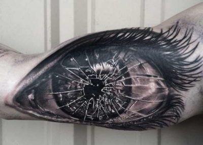 татуировки глаза