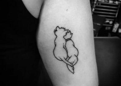 татуировки кошки