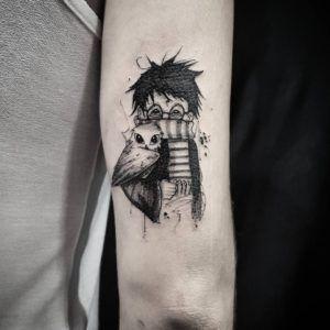 Интересные «книжные» татуировки