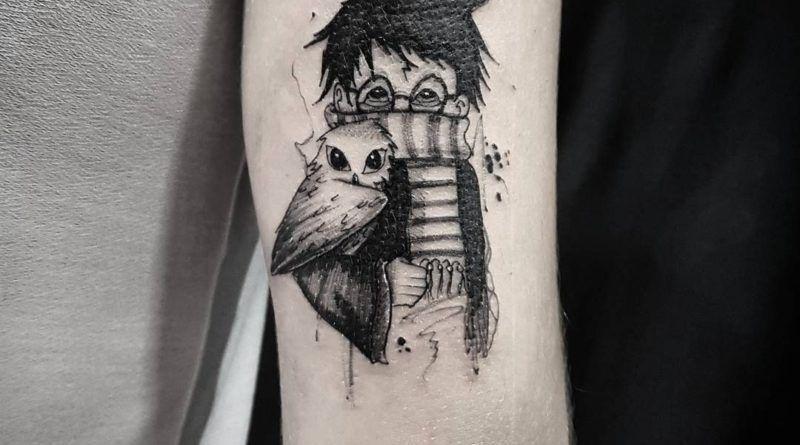 «книжные» татуировки
