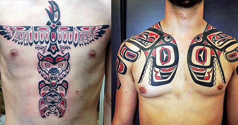 татуировки в стиле Хайда