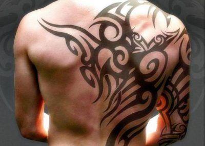 татуировки в стиле трайбл