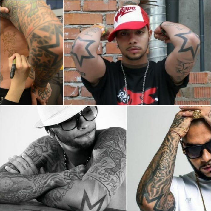 татуировок Тимати на руках