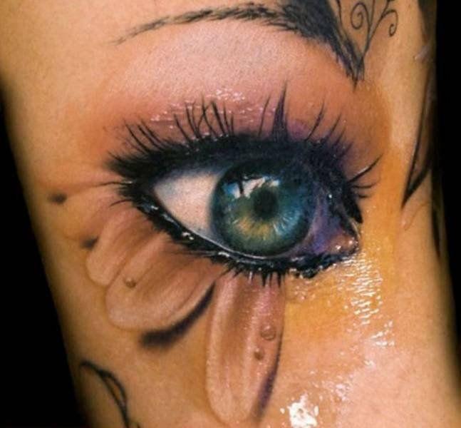 реалистичные D татуировки