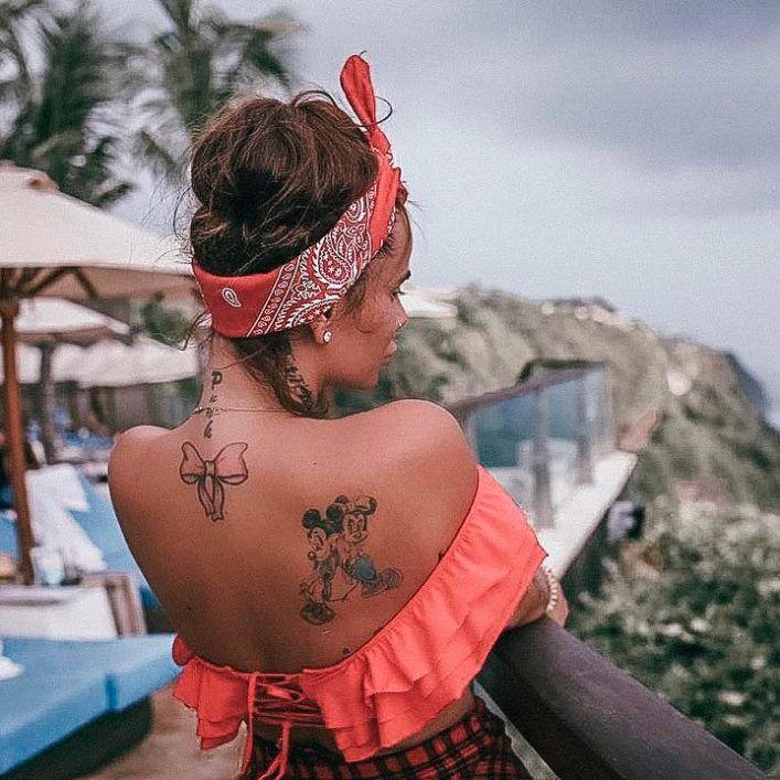 странные татуировки отечественных знаменитостей