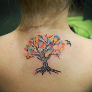 Что обозначает татуировка «дерево»