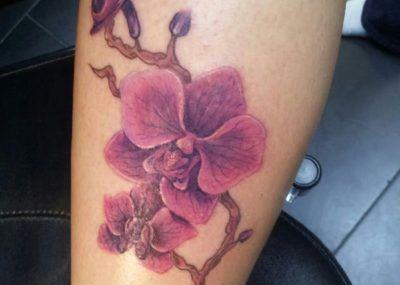 тату орхидея