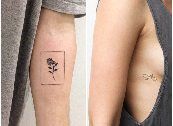 лучше всего делать миниатюрные тату