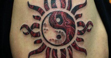 Значение татуировки Инь-Янь