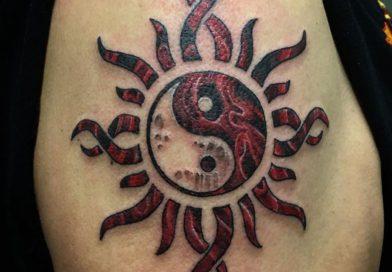 татуировки Инь Янь