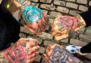 популярные тату на кисти