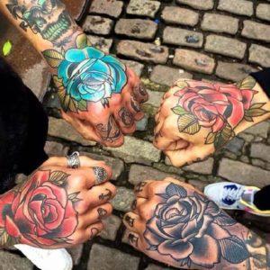 Самые популярные тату на кисти