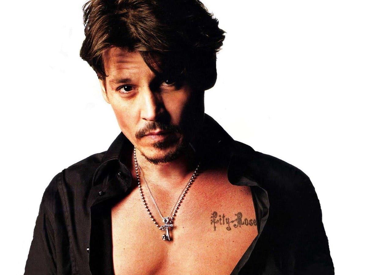 Татуировки Джонни Деппа: история появления и значение0