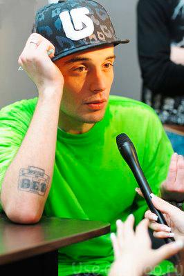"""Татуировка Гуфа """"нет"""""""