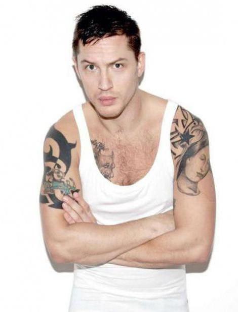 Все татуировки Тома Харди0