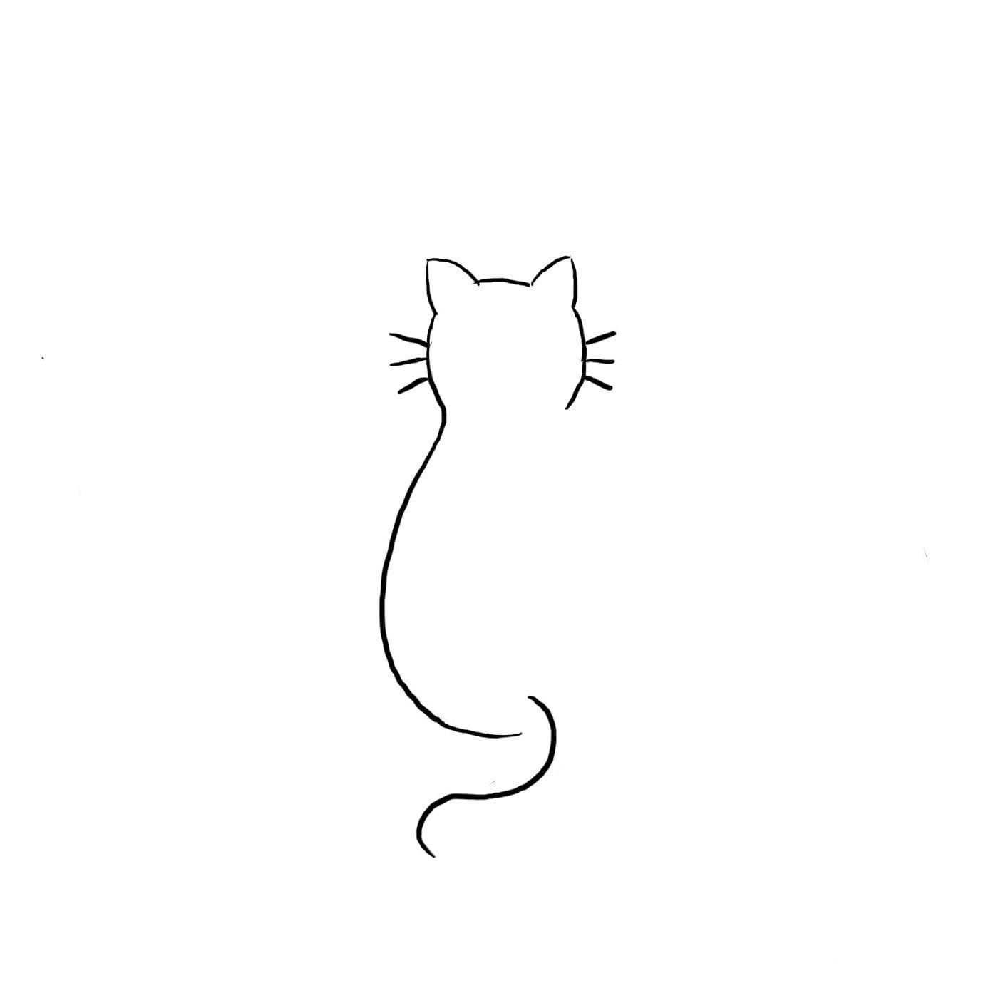 Кот. Эскизы тату (120 фото)79