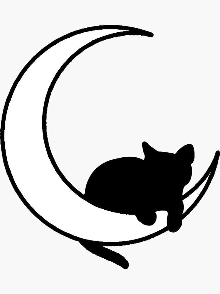 Кот. Эскизы тату (120 фото)105
