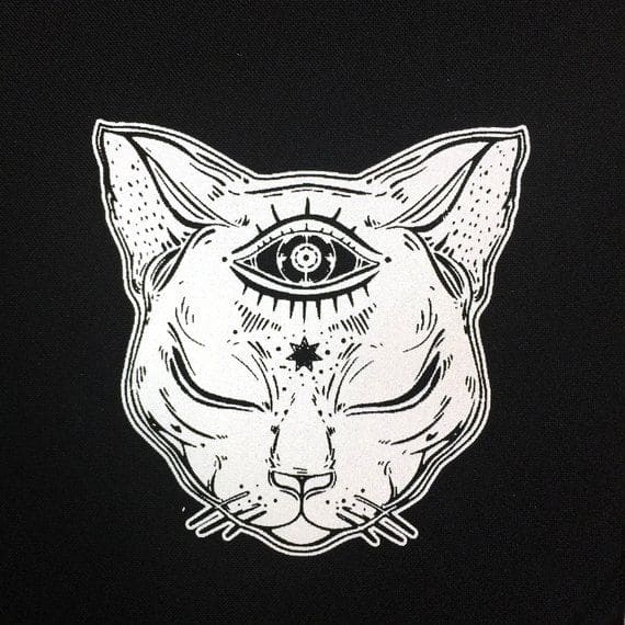 Кот. Эскизы тату (120 фото)107