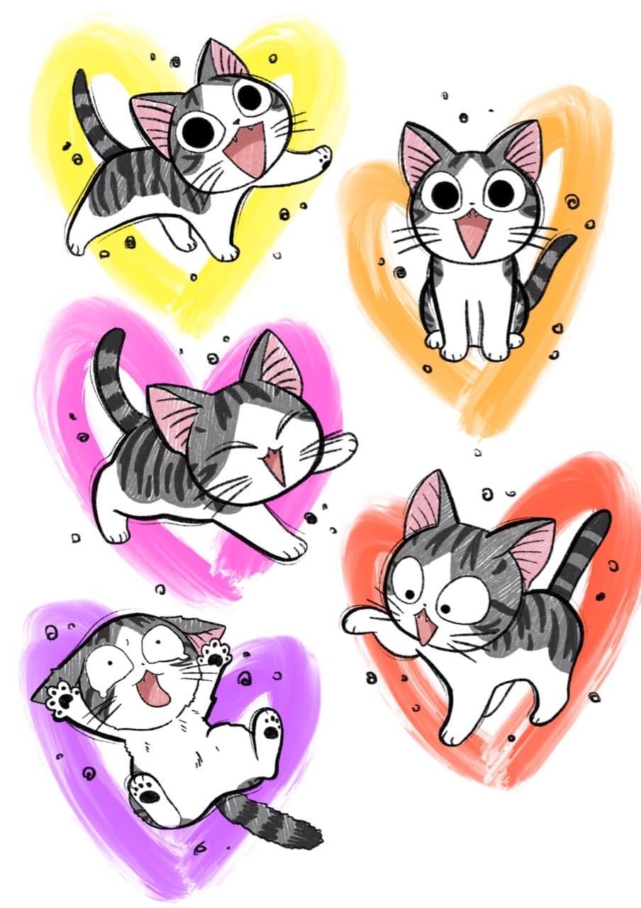 Кот. Эскизы тату (120 фото)22