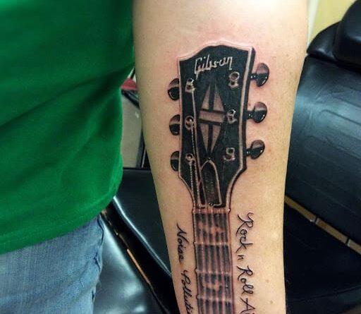 Тату гитара