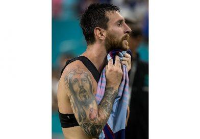 Татуировки Месси